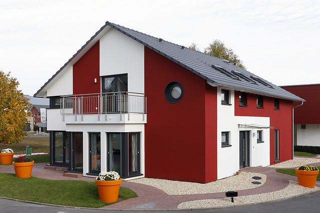 Fassadengestaltung einfamilienhaus beispiele  Ein Fertighaus bietet viele Vorteile | Abenteuer Hausbau